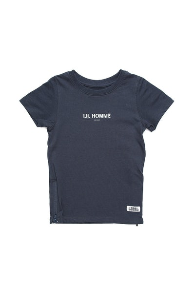 Lil Homme Lil Section 2 Capone S/S Tee Navy