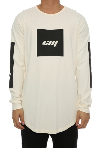 Saint Morta Homeland LS El Duplo 2 Tee Off White