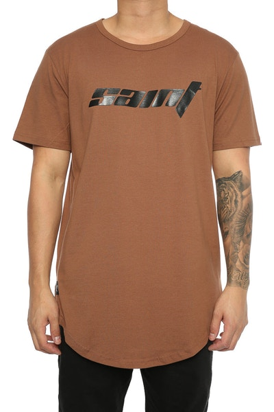 Saint Morta Bassick SS El Duplo 2 Tee Brown