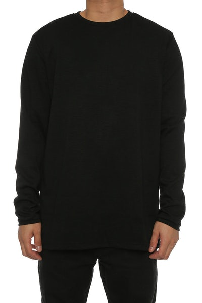 Lifted Anchors Sims Long Sleeve Tee Black