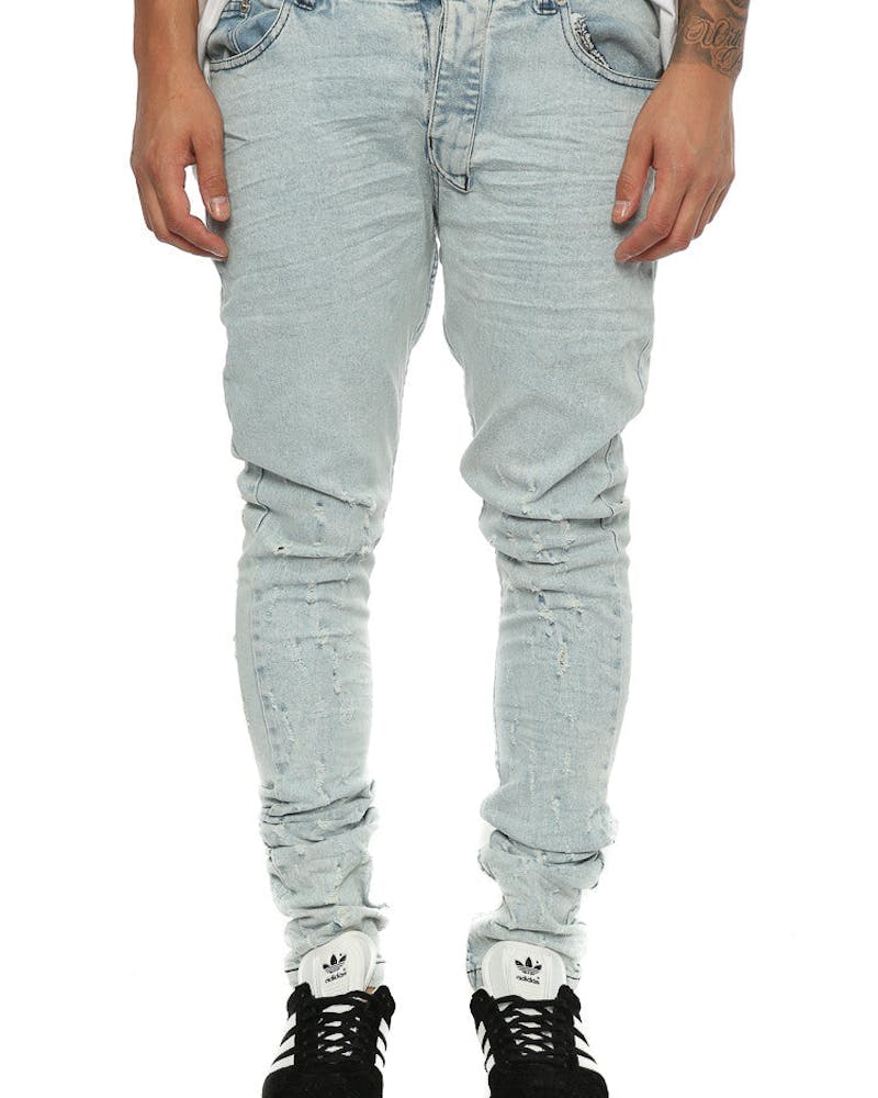 Other UK Clothing Limited Blistered Jean Light Blue