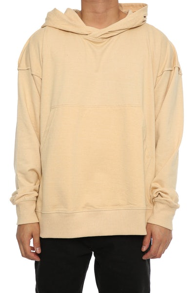 Other UK Clothing Limited Reverse Seam Hoodie Nude