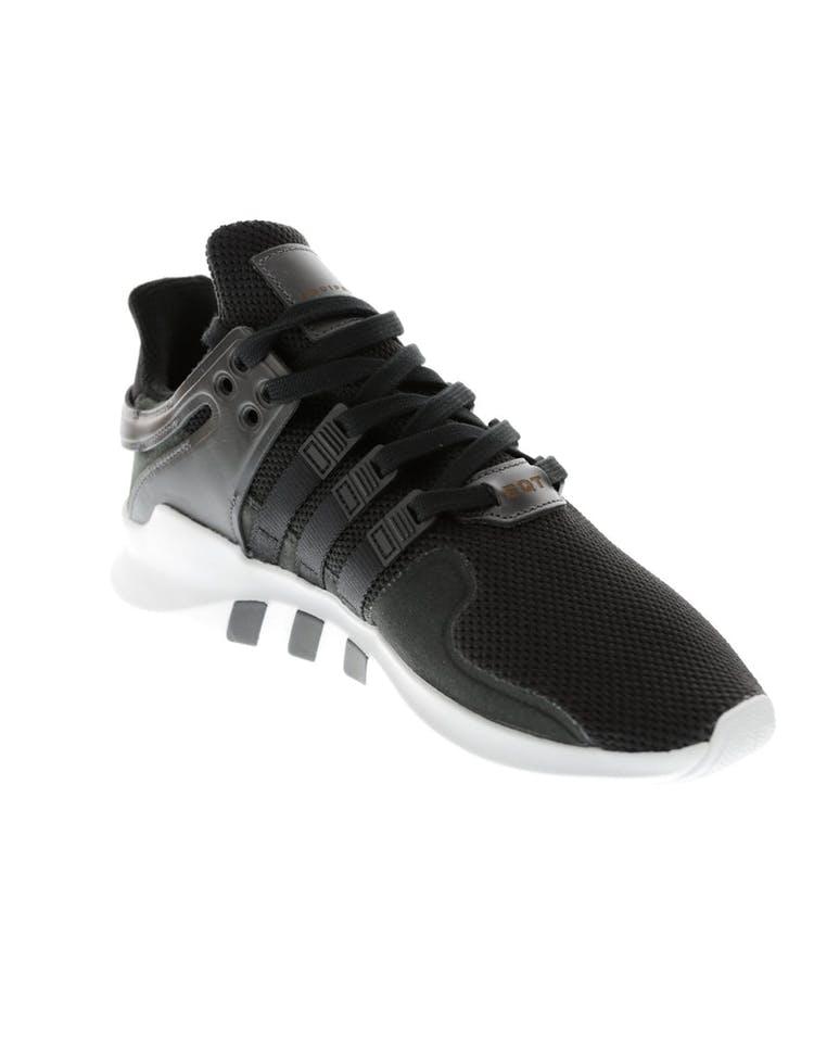 huge discount bd299 33f41 Adidas Originals EQT Support ADV Black White