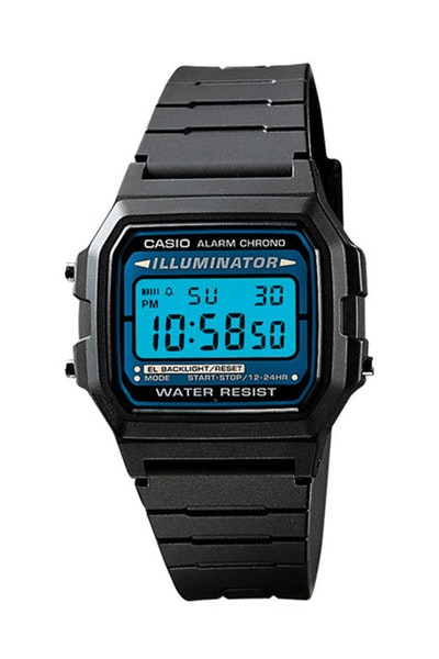 Casio F105W-1AUZ Digital Watch Black