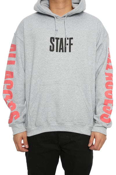 Justin Bieber All Access Hoodie Grey