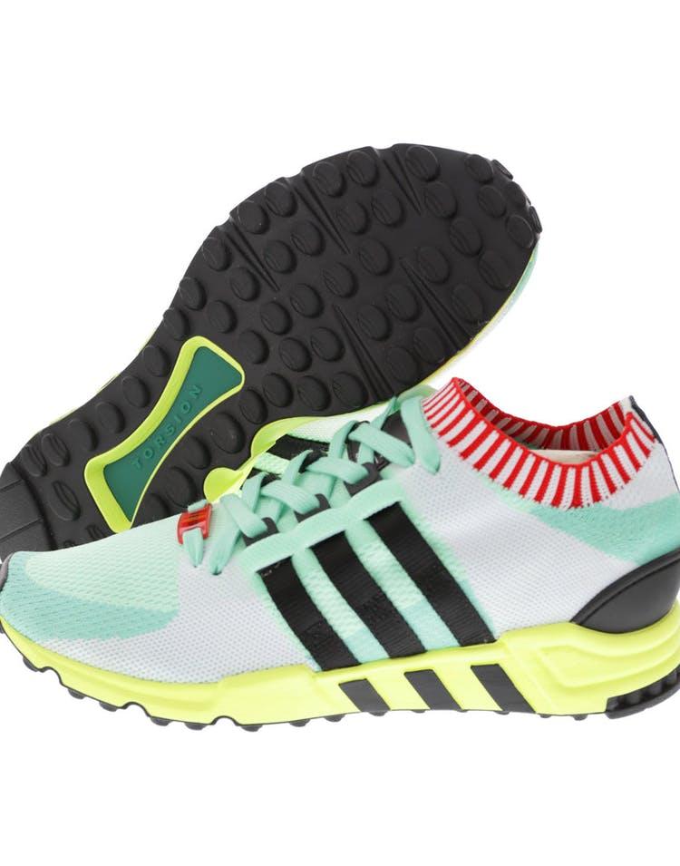 big sale b2d55 5bfe2 Adidas Originals EQT Support RF Prime Knit Green/Black/White
