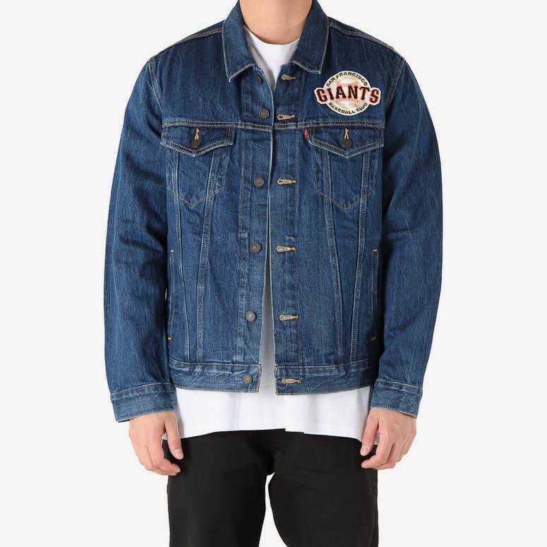 Levi Strauss And Co San Francisco Giants Denim Jacket Blue – Culture Kings fa3ae1b6a452