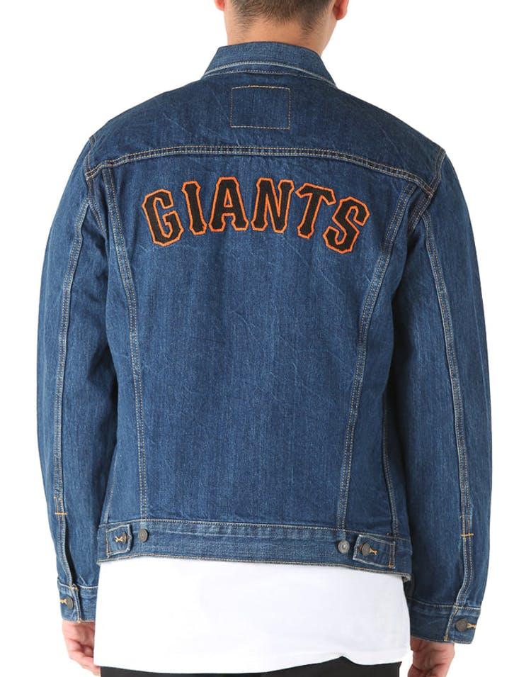 8bc05280 Levi Strauss And Co San Francisco Giants Denim Jacket Blue