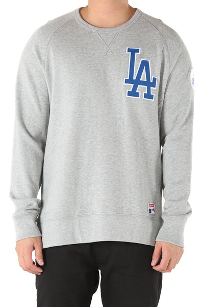 Levi Strauss And Co Los Angeles Dodgers Crew Fleece Grey