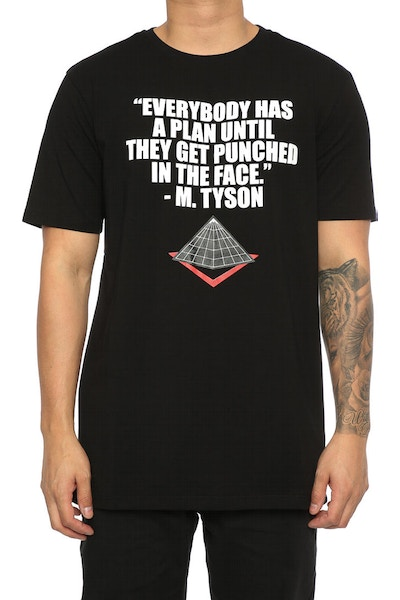 Black Pyramid Winner Girl Fight Tee Black