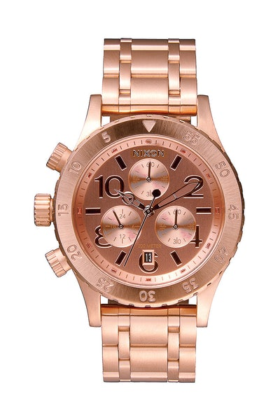 Nixon 38-20 Chrono Rose Gold