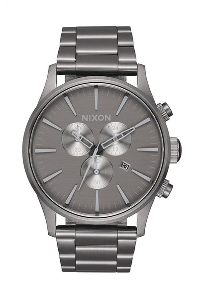 Nixon Sentry Chrono Gunmetal/Grey