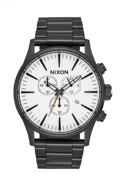 Nixon Sentry Chrono Black/White