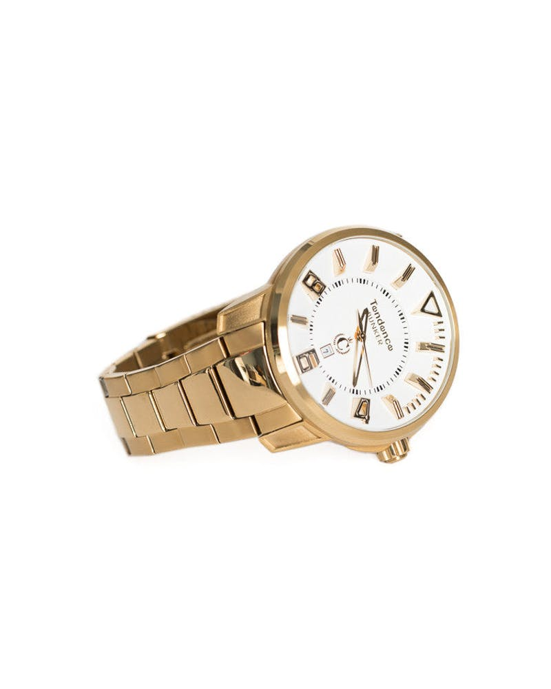 Culture Kings X Tendence Collaboration Bunker 3H Gold/White