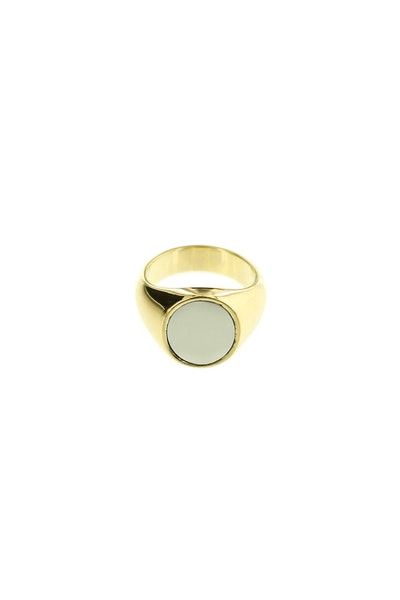 Vitaly Pryde Ring Gold/Polished Steel