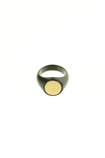 Vitaly Pryde Ring Matte Black/Gold