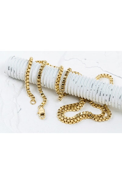 Vitaly Box 2.4mm Chain Gold