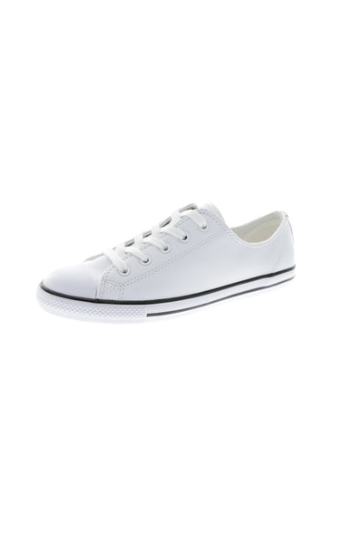Converse Women's Dainty Leather White