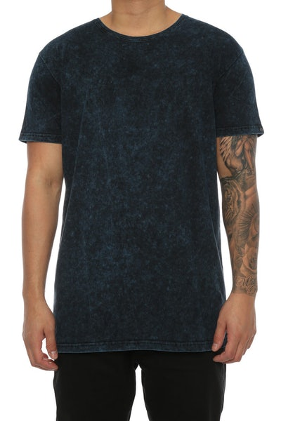 Silent Theory Acid Tall Tee Dark Navy