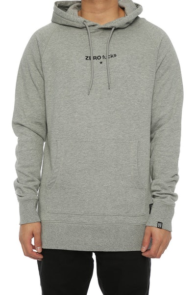 Goat Crew Zero F*cks Embroidered Hood Grey