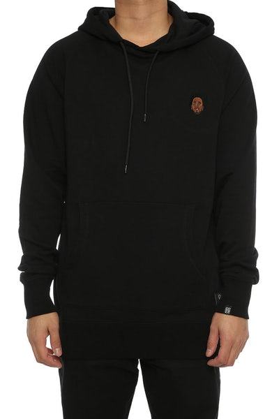 Goat Crew Cole World Embroidered Hood Black