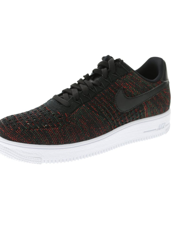 online retailer cc8bc 2cd1a Nike Air Force 1 Ultra Flyknit Low Black/Multi-Colour