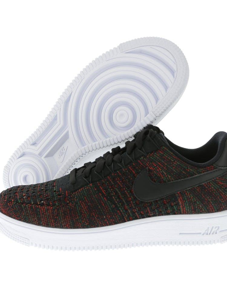 online retailer 04378 cb2c2 Nike Air Force 1 Ultra Flyknit Low Black/Multi-Colour