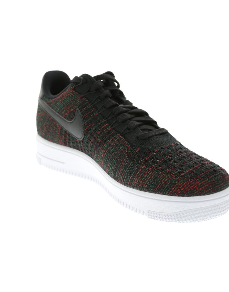 online retailer e2ba6 f8ec9 Nike Air Force 1 Ultra Flyknit Low Black/Multi-Colour