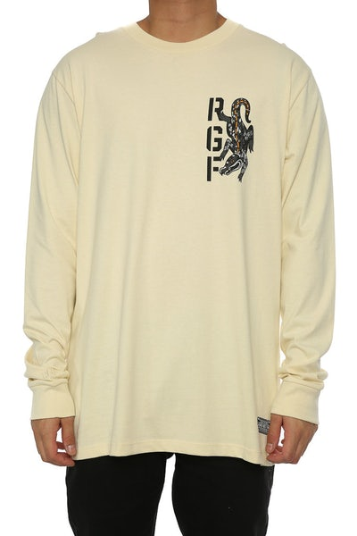 Rats Get Fat Crikey LS Tee Cream