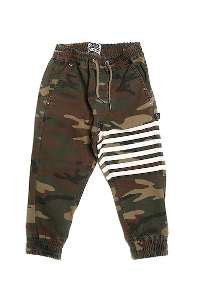 Lil Homme Banded Pro Jogger Camo