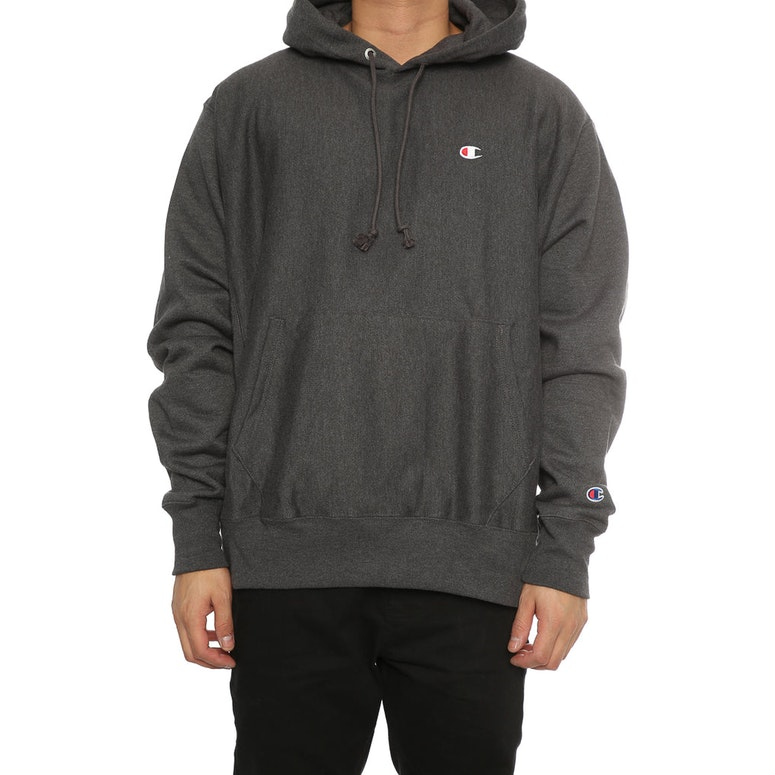 champion reverse weave hoodie charcoal heather culture kings. Black Bedroom Furniture Sets. Home Design Ideas
