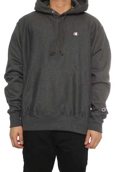Champion Reverse Weave Hoodie Charcoal Heather