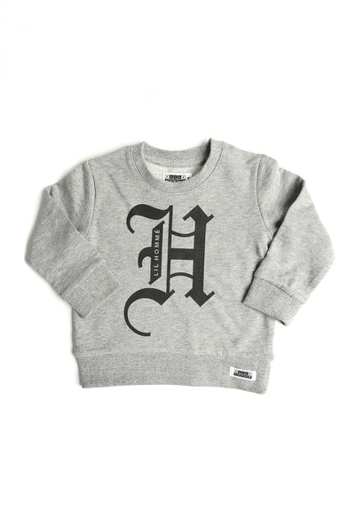 Lil Homme Olde Crew Grey