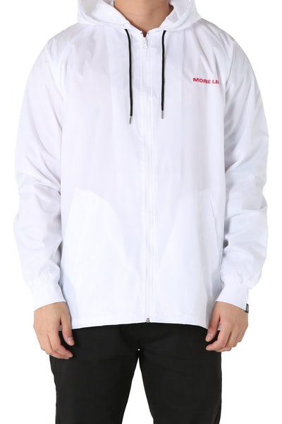 Goat Crew More Life Windbreaker White