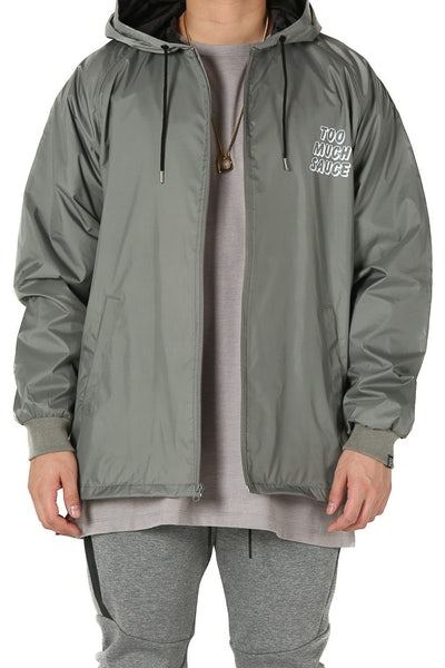 Goat Crew Too Much Sauce Windbreaker Grey