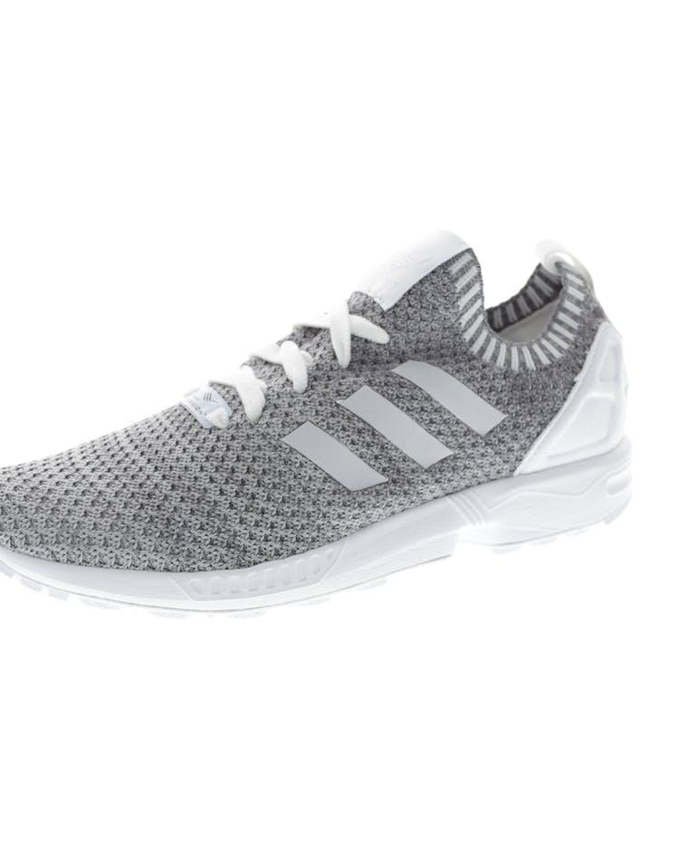 online store 907fc d8d11 Adidas Originals ZX Flux Primeknit White/Black