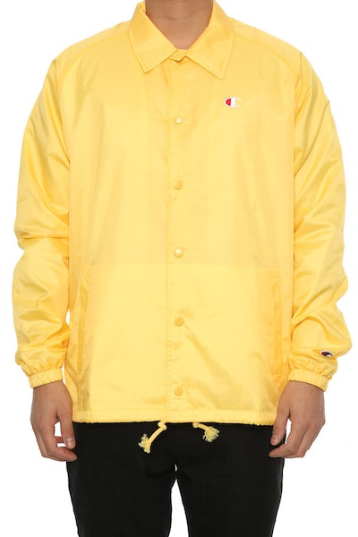 Champion Coaches Jacket West Breaker Edition Yellow