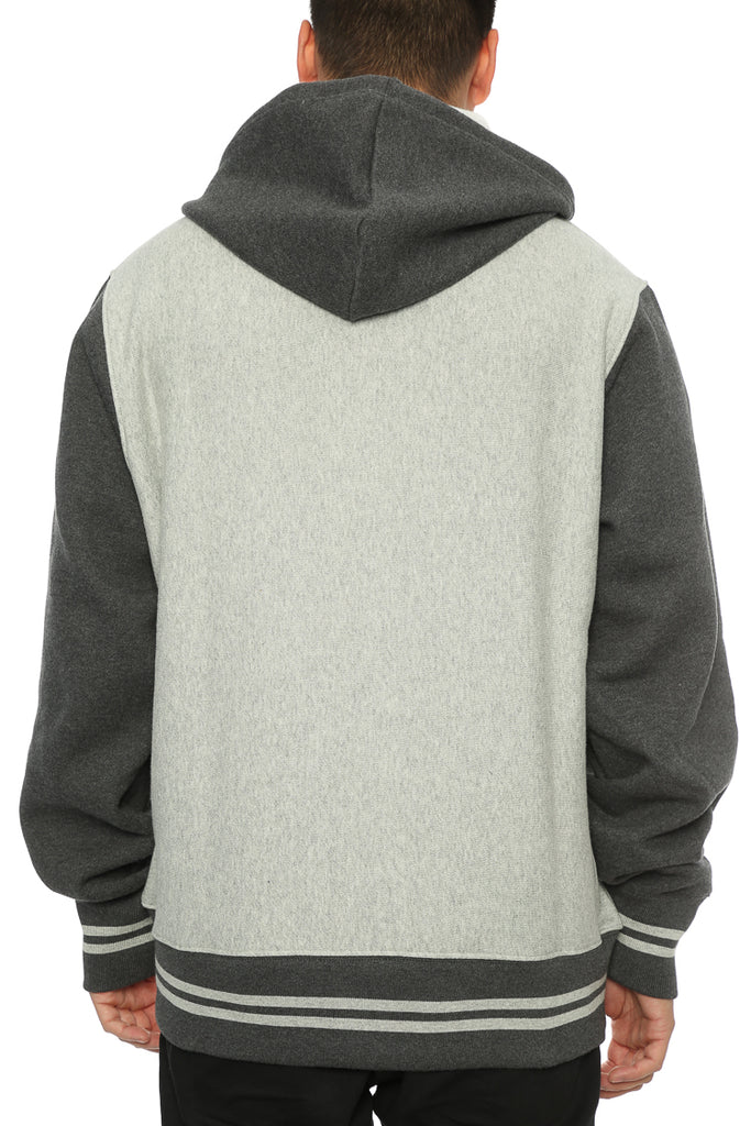 Block Champion Culture Colour Kings Reverse Heather Weave Hood Grey – CnOqHBvwfO