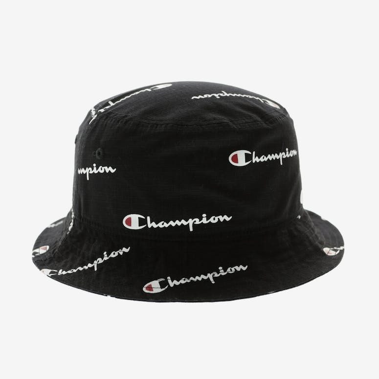 Champion All Over Bucket Hat Black – Culture Kings 1a8b71b9379