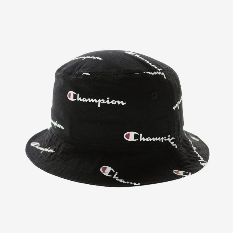 Champion All Over Bucket Hat Black – Culture Kings da325336c905