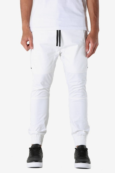 The Anti-Order Component Sneaker Pant White