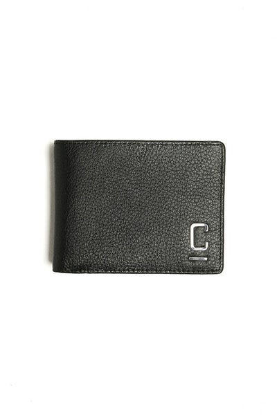 Carré Tresorier Leather Wallet Black