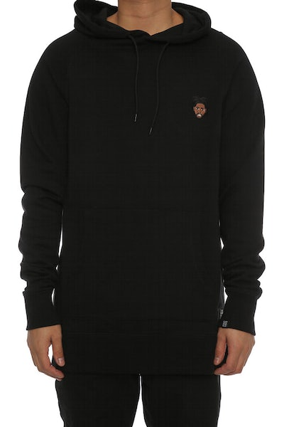 Goat Crew Weekend Embroidered Hood Black