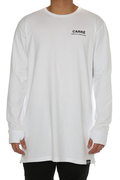 Carré Pioneers Capone 3 Long Sleeve Tee White