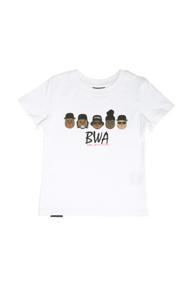 Goat Crew Junior BWA Tee White