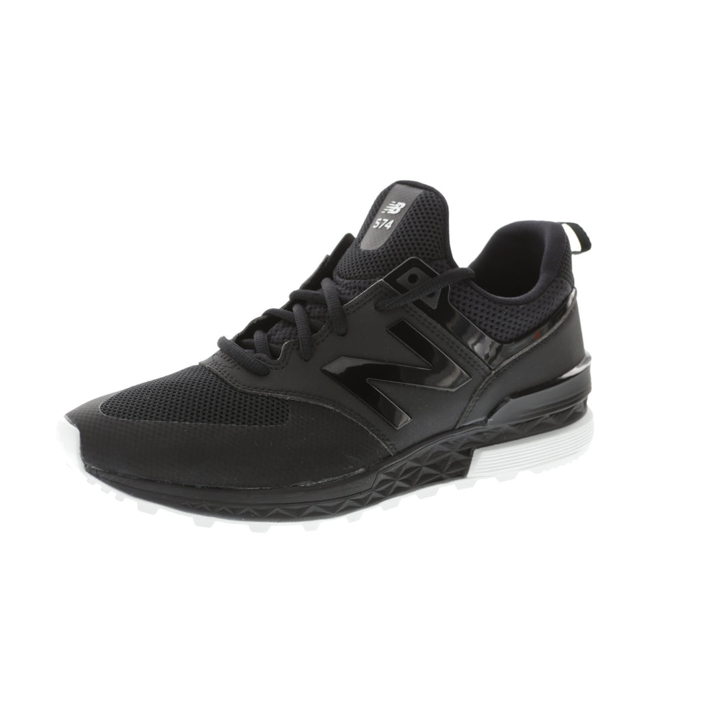 all black 574 new balance