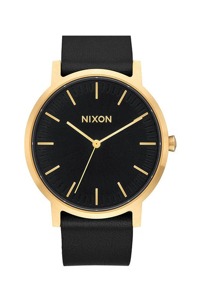 Nixon Porter Leather Gold/Black/Gold
