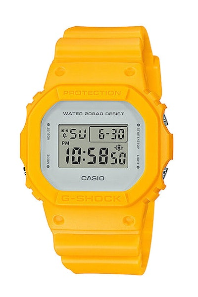 G-Shock DW-5600LCU-9DR Yellow