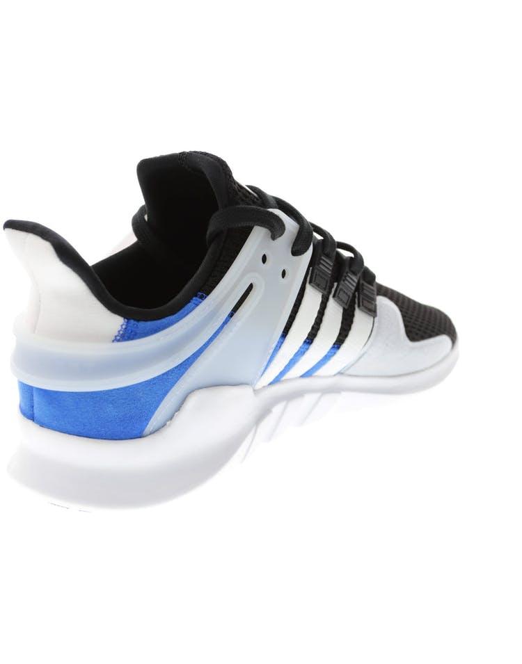 super popular 204bf da44f Adidas Originals EQT Support ADV Black/White/Blue