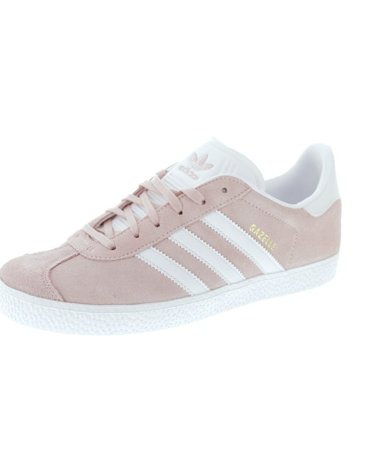 detailed pictures 74676 4eba2 Adidas Originals Gazelle Junior Pink White   BY9544 – Culture Kings
